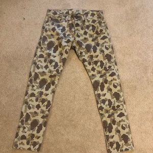Camo pants Ralph Lauren Polo size 33